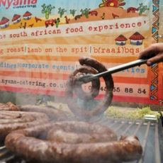 A Christmas BBQ in England? You must be South African!