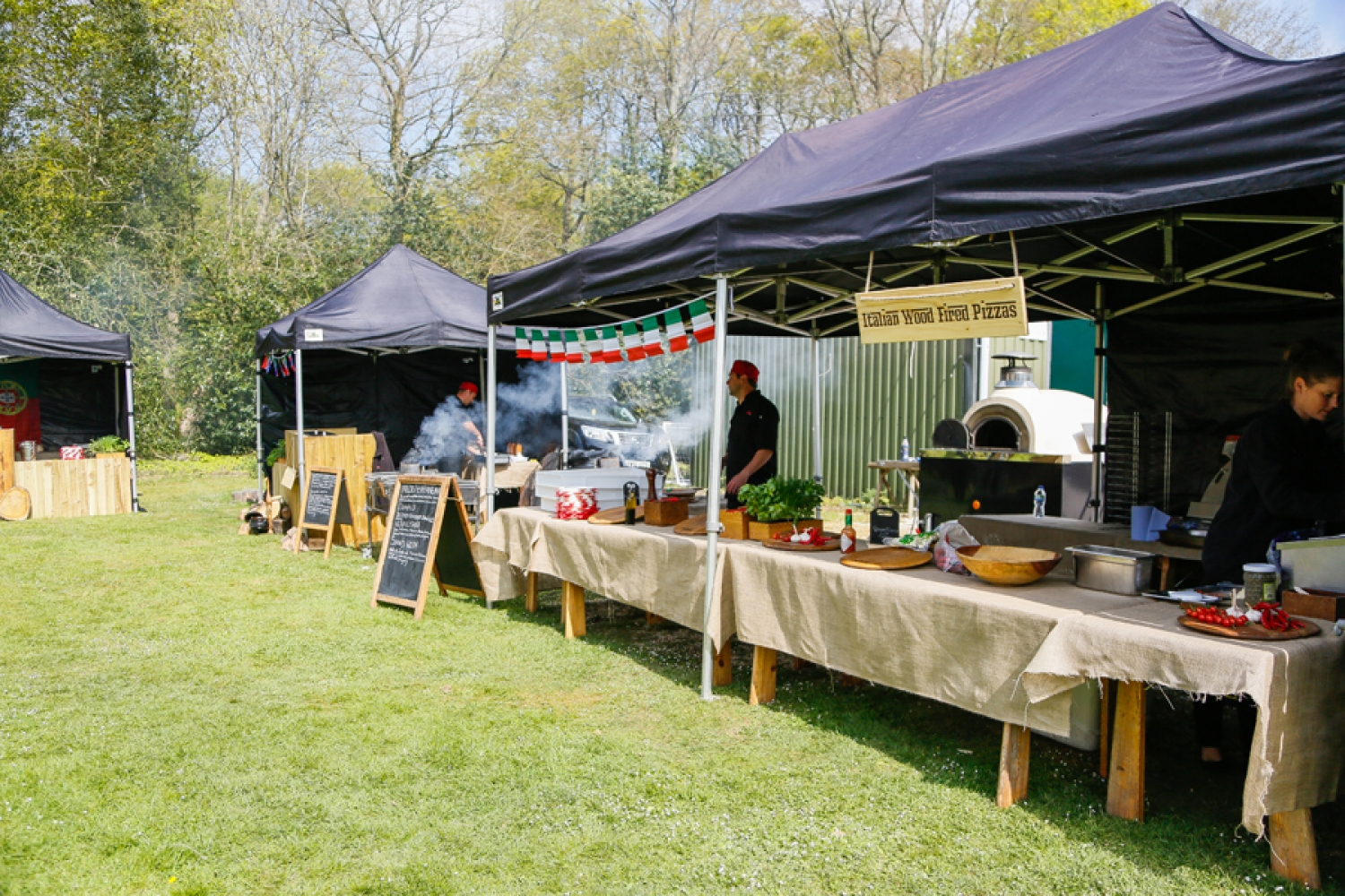 Street food catering at your wedding