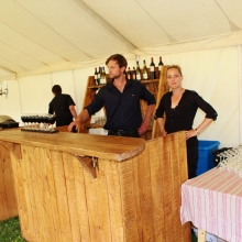 Profesional and good looking ;) Bar Staff