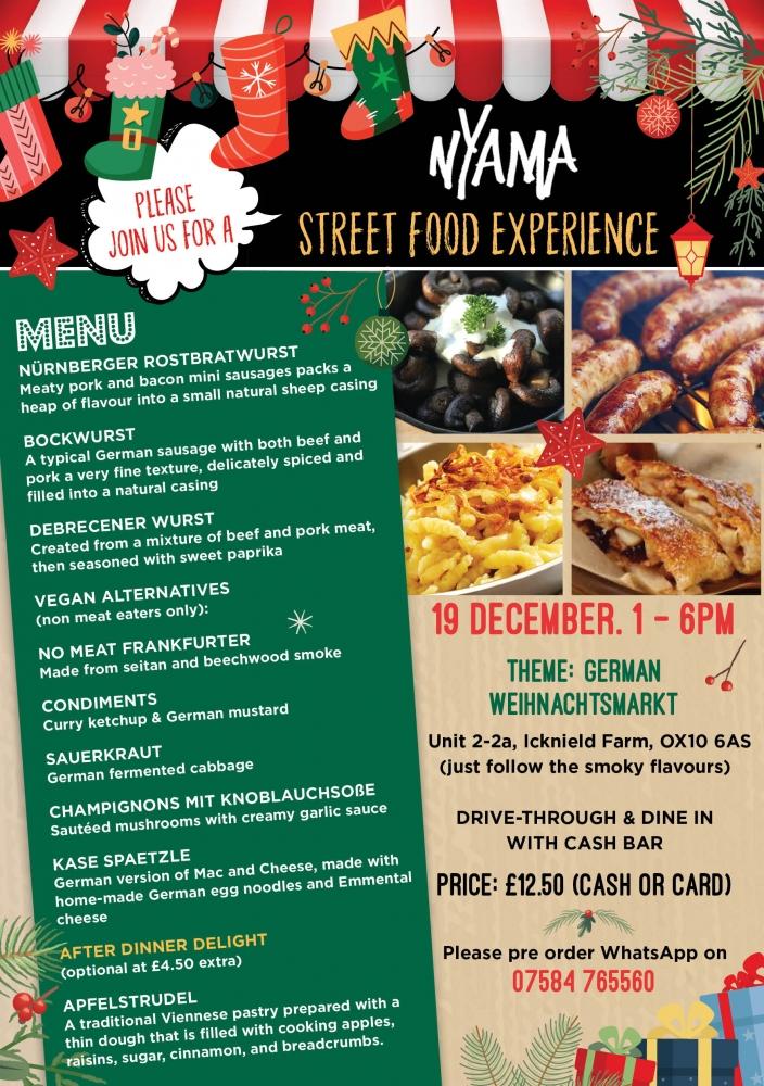 Street Food Experience - Week 11: German Weihnachtsmarkt