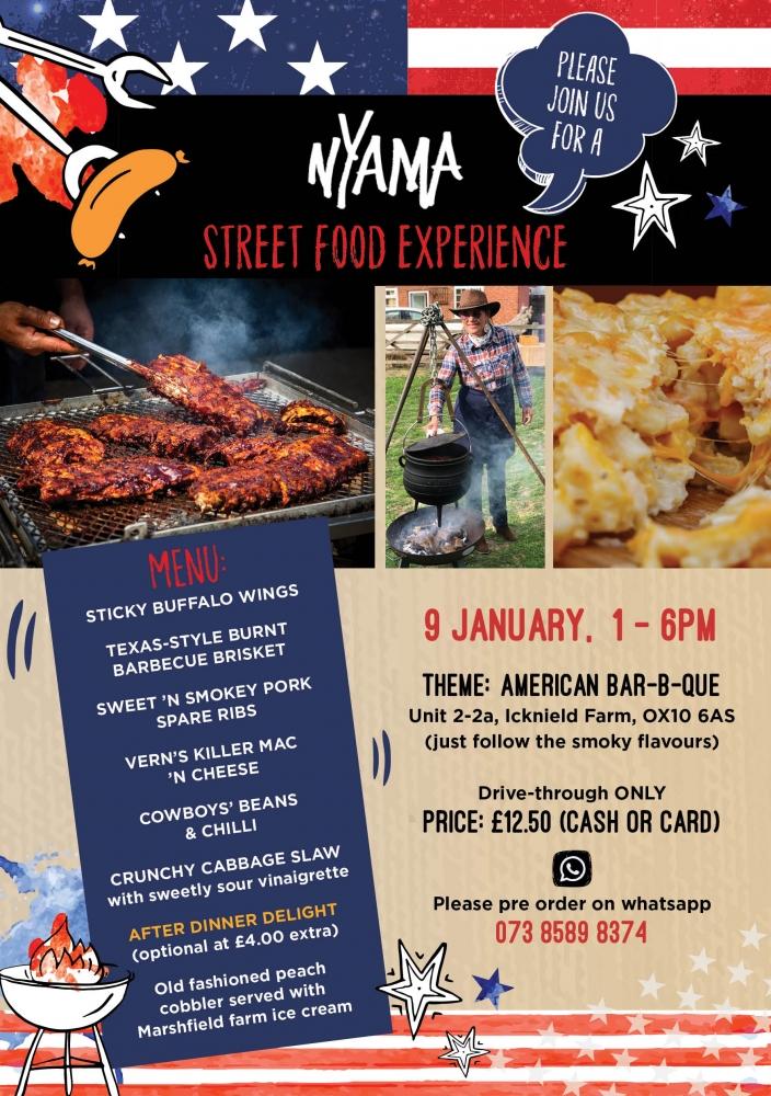Street Food Experience - Week 12: American