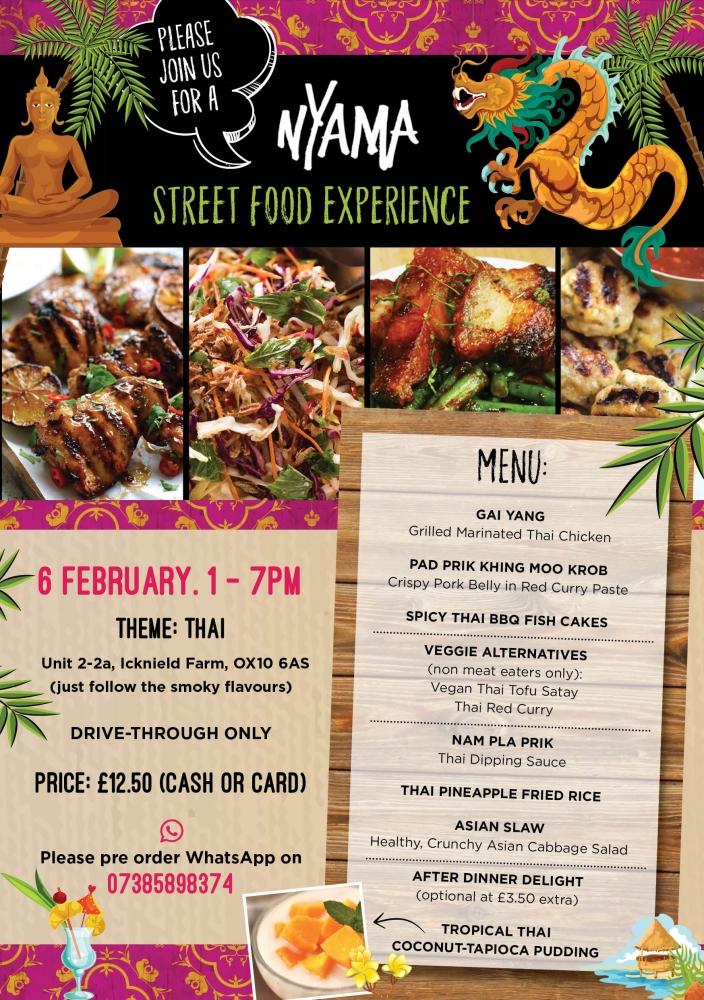 Street Food Experience - Week 16: Thai