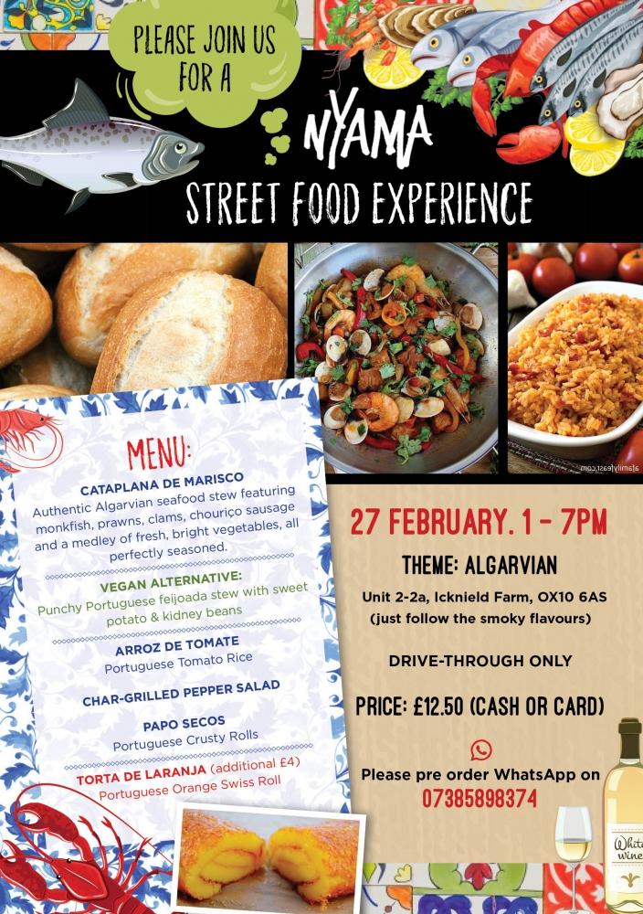 Street Food Experience - Week 19: Algarvian