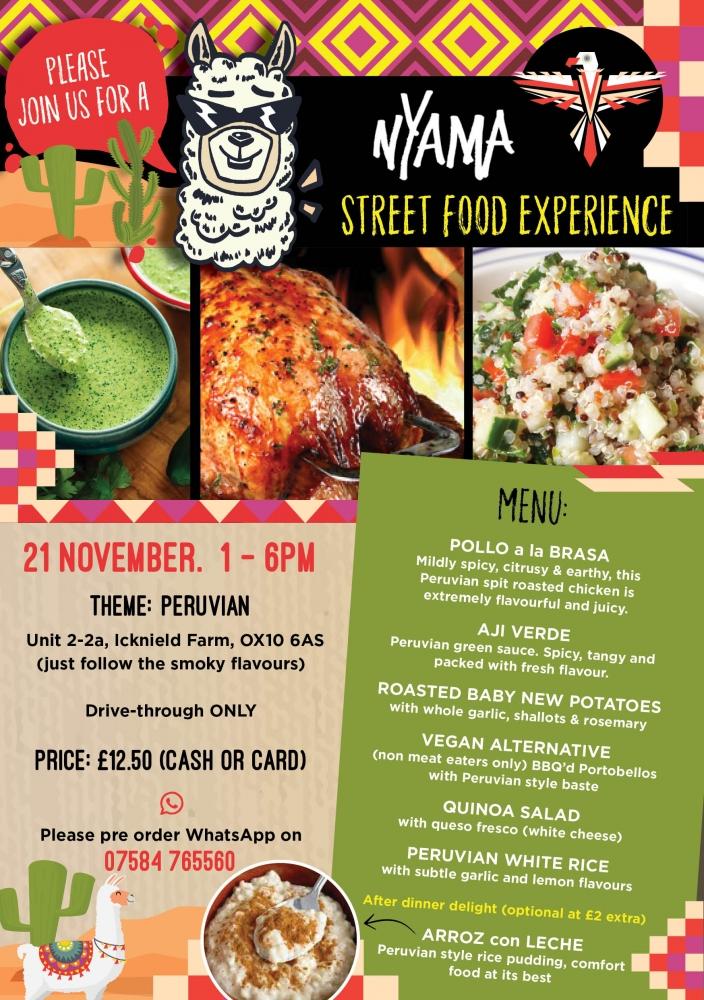Street Food Experience - Week 7: Peruvian
