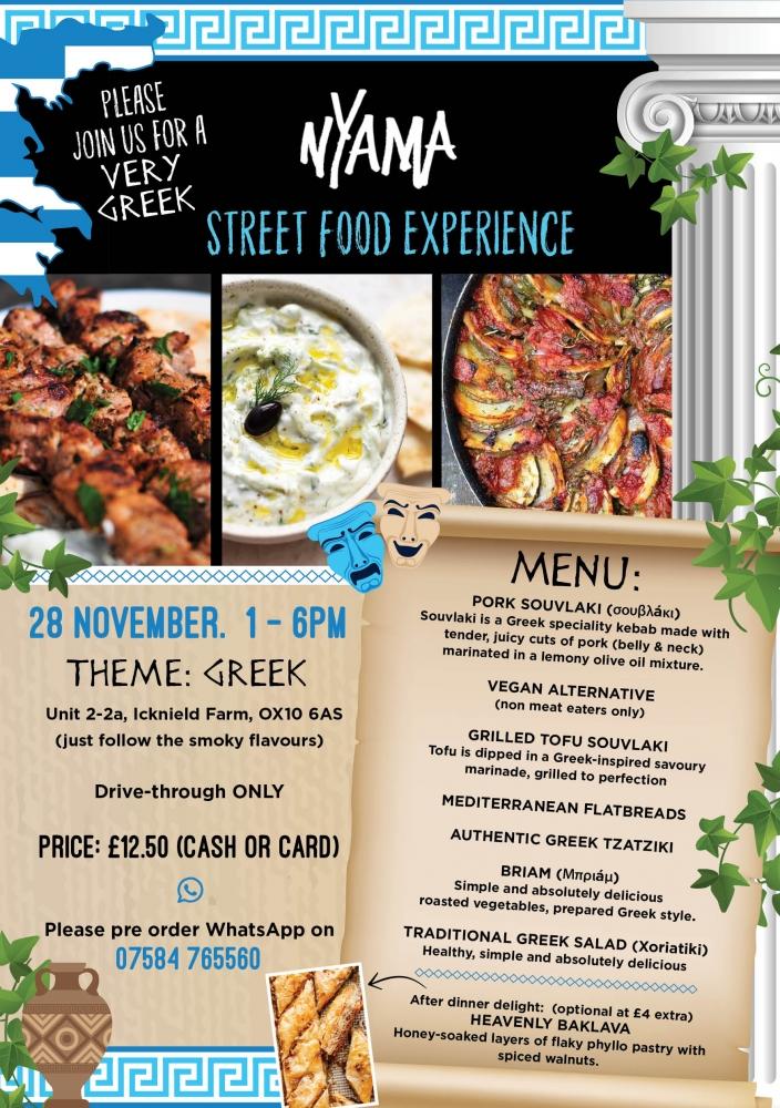 Street Food Experience - Week 8: Greek