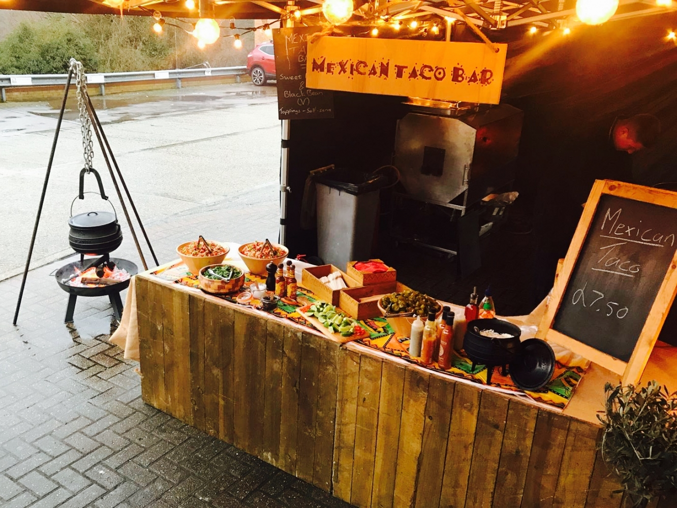 The rising popularity of street food catering